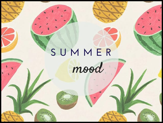 Design Time #6:summer mood