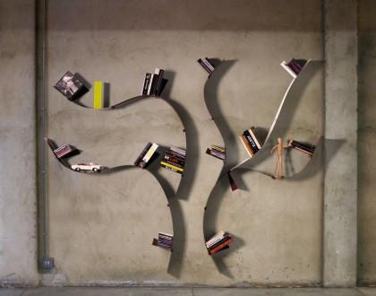 Librerie da parete per ogni tipo di lettore