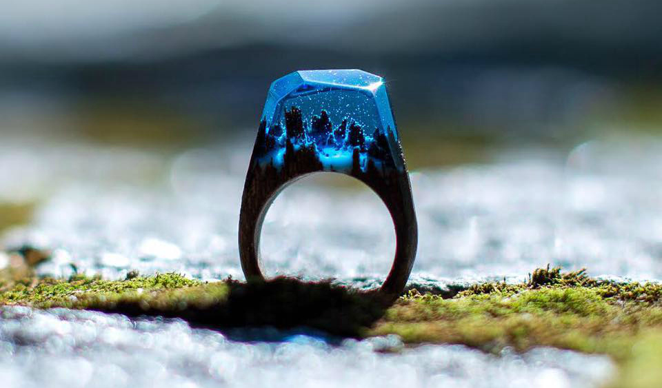 Oggetto del desiderio della settimana:anello Secret Wood