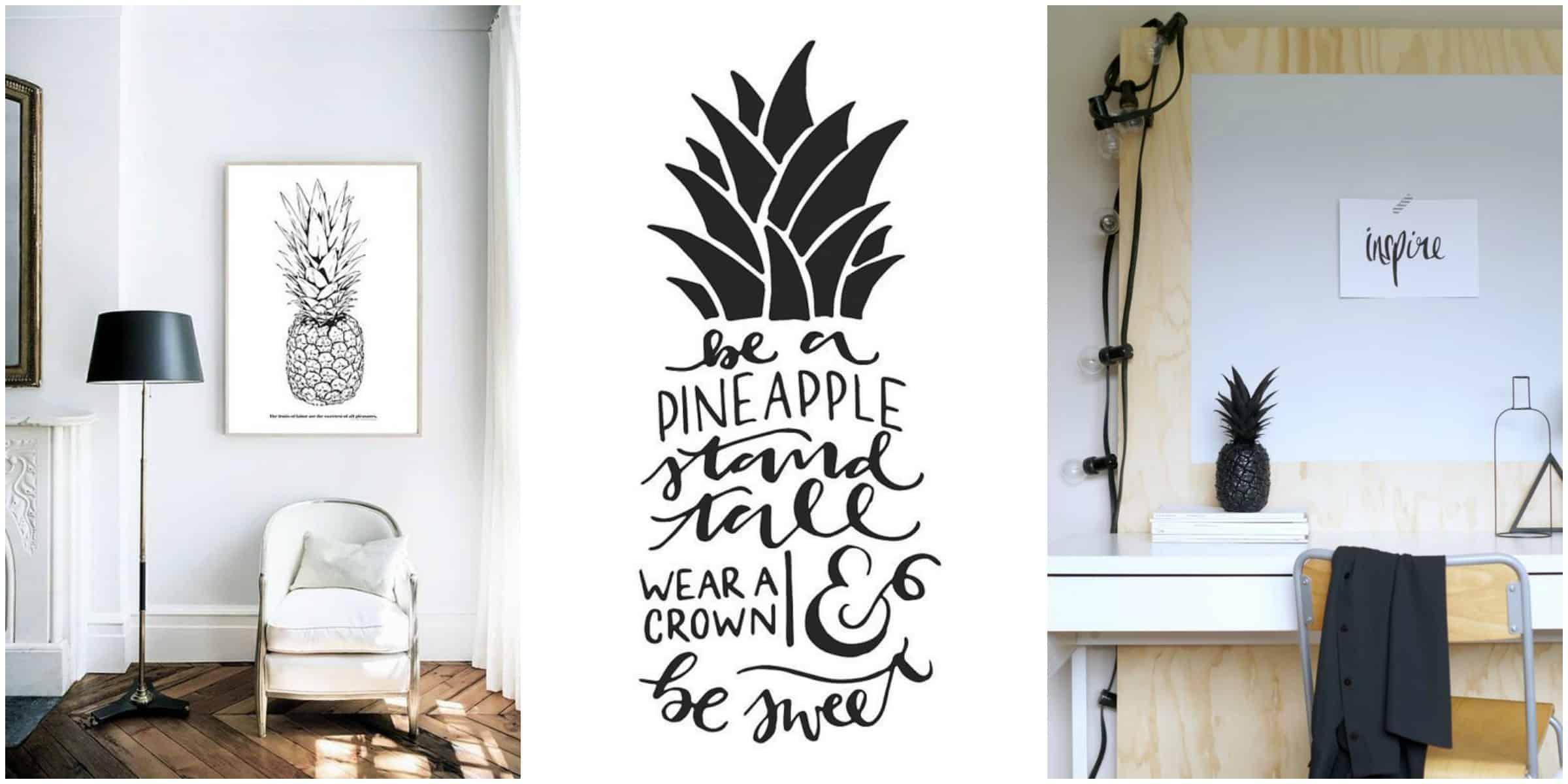 Summer mood: Pineapple