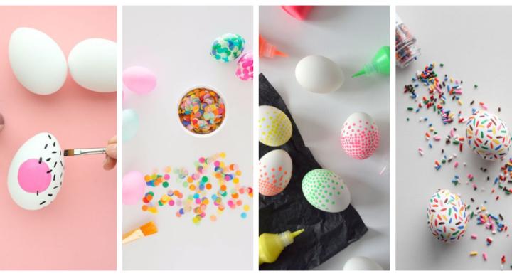 10 dyi per realizzare uova colorate per Pasqua