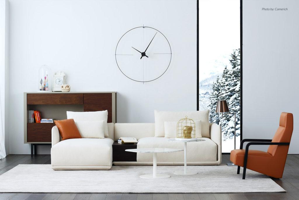 Arredare le pareti di casa o ufficio:gli orologi Nomon sono oggetti di grande eleganza che uniscono design e qualità, protagonisti delle pareti.