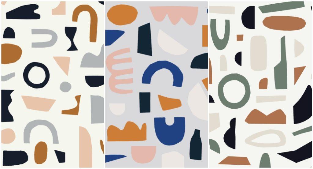 Una collezione di carte da parati astratta ispirate ai decoupage di Matisse per celebrare i 150 anni dalla nascita del grande artista francese.