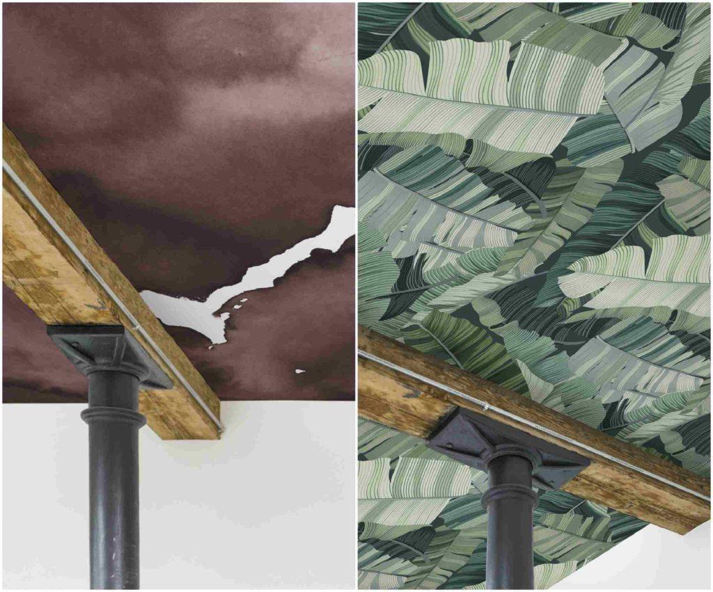 Carta da parati per il soffitto:una serie di consigli e di risposte a domande legate alla scelta dei vari modelli di wallpapers per arredare il soffitto
