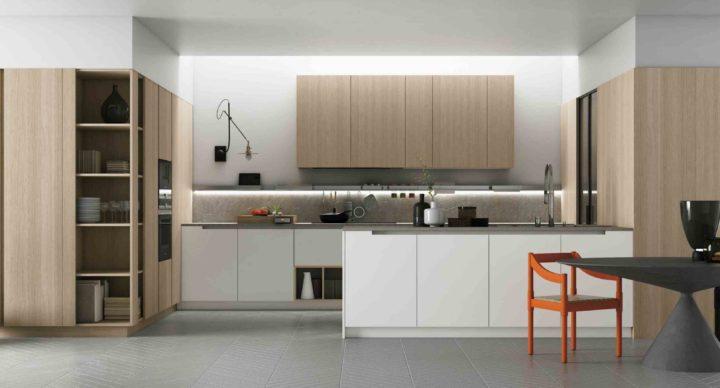 Cucina: l'importanza della parete attrezzata