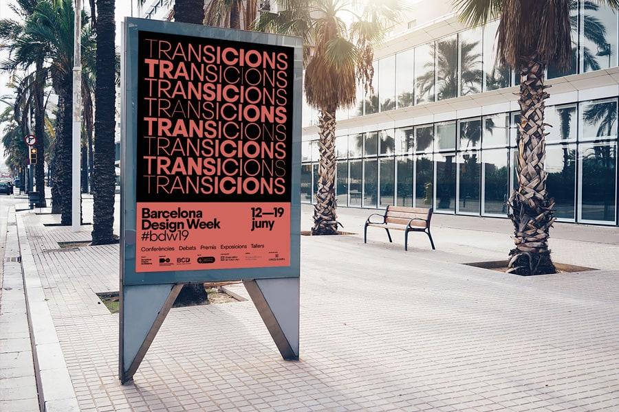 """Barcellona design week 2019:inizia la manifestazione spagnola dedicata al mondeo del design, titolo di questa edizione """"Transicions""""."""