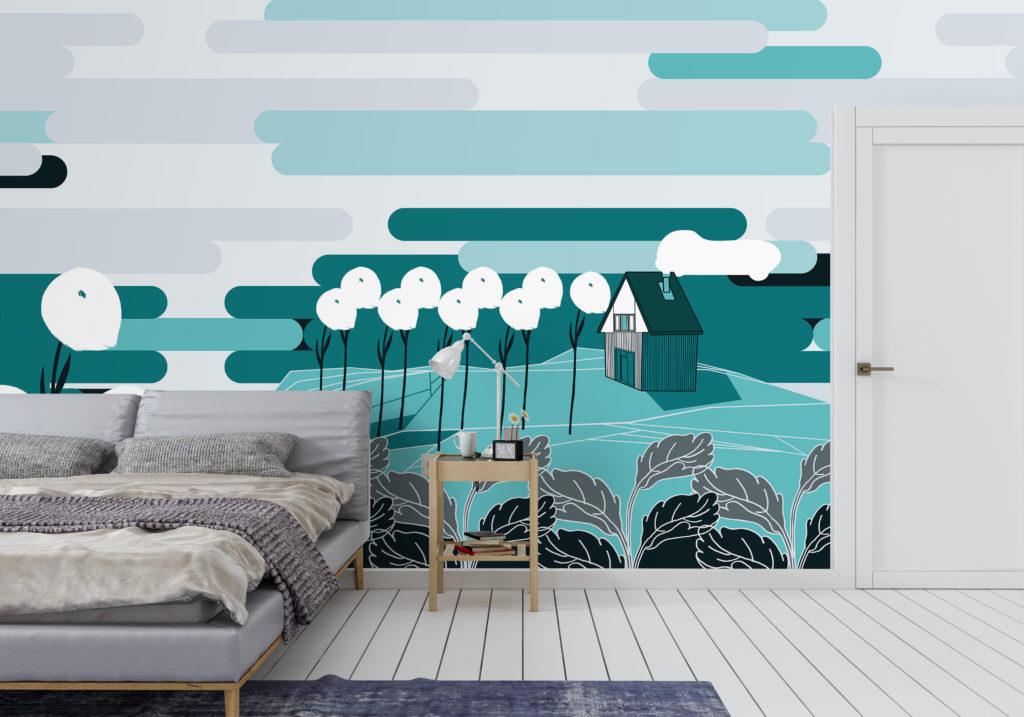 Carte da parati: Ambientha un'azienda made in Italy che realizza carte da parati di design e rivestimenti per pareti e superfici di alta qualità.