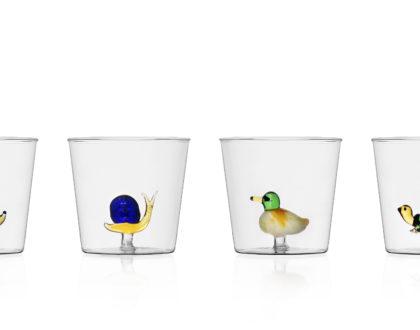 Animal Farm: collezione di brocche in vetro