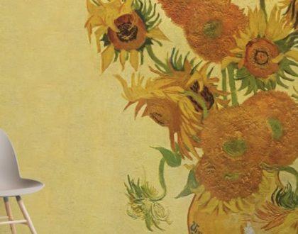 Carta da parati Arte: portare il museo in casa nostra