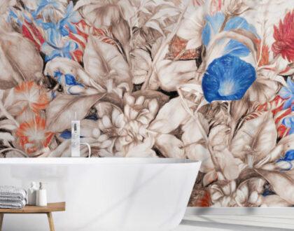 Carte da parati per il bagno: 3 proposte