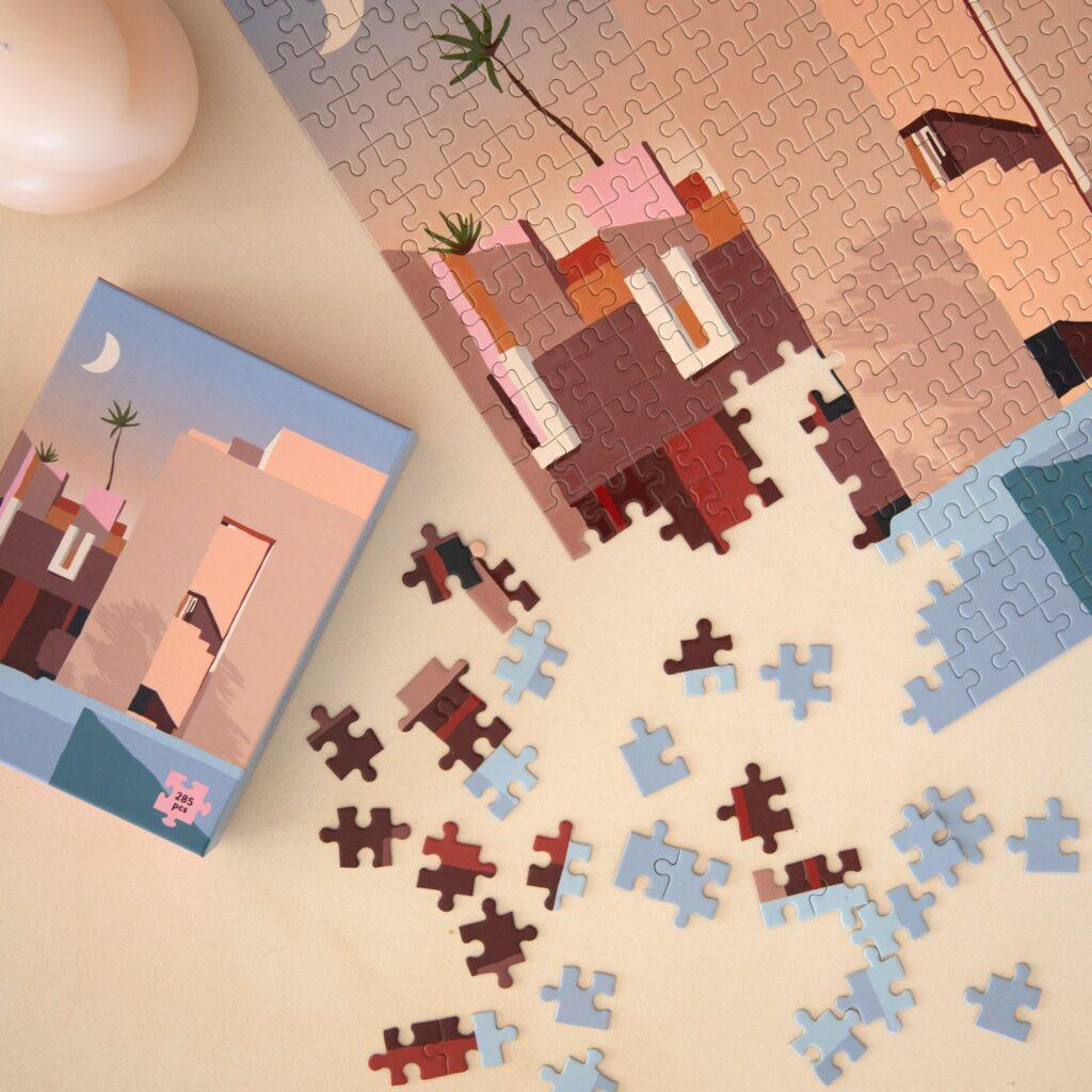 puzzle di design