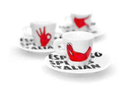 Espresso Speaks Italian: le tazzine di caffè ispirate a Bruno Munari