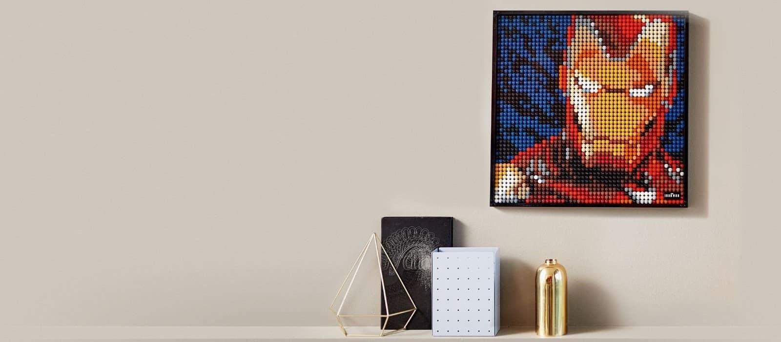 Lego art: arredare le pareti divertendosi