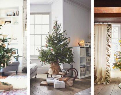 Decorare la base dell'albero di Natale: 10 proposte