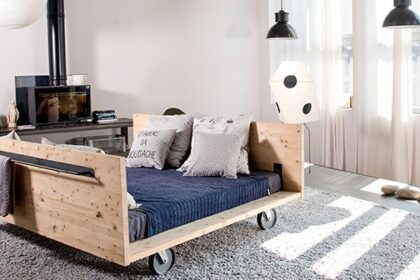 Un home tour industrial chic