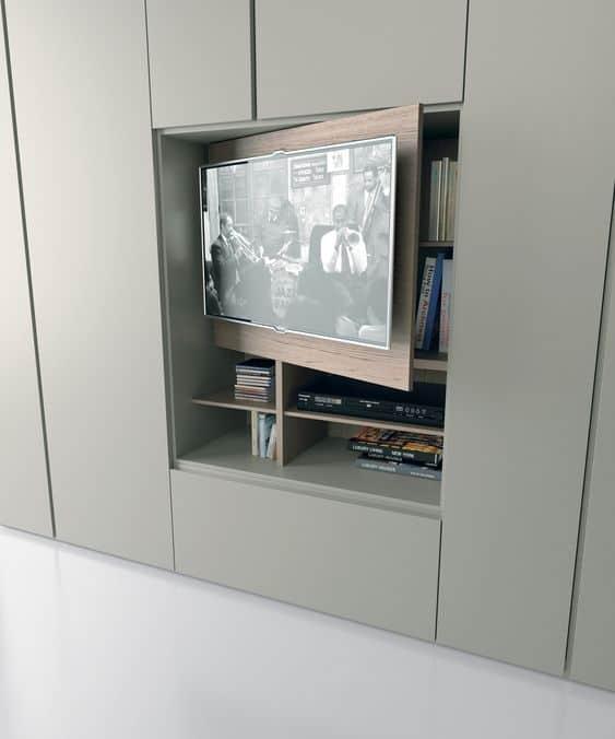 nascondere la tv