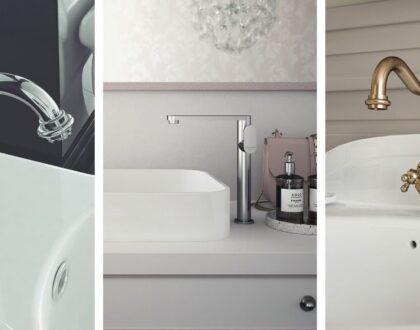 Rubinetteria del bagno e stili di arredo