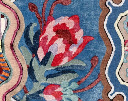 I tappeti Eclectic Yard di Paula Cademartori