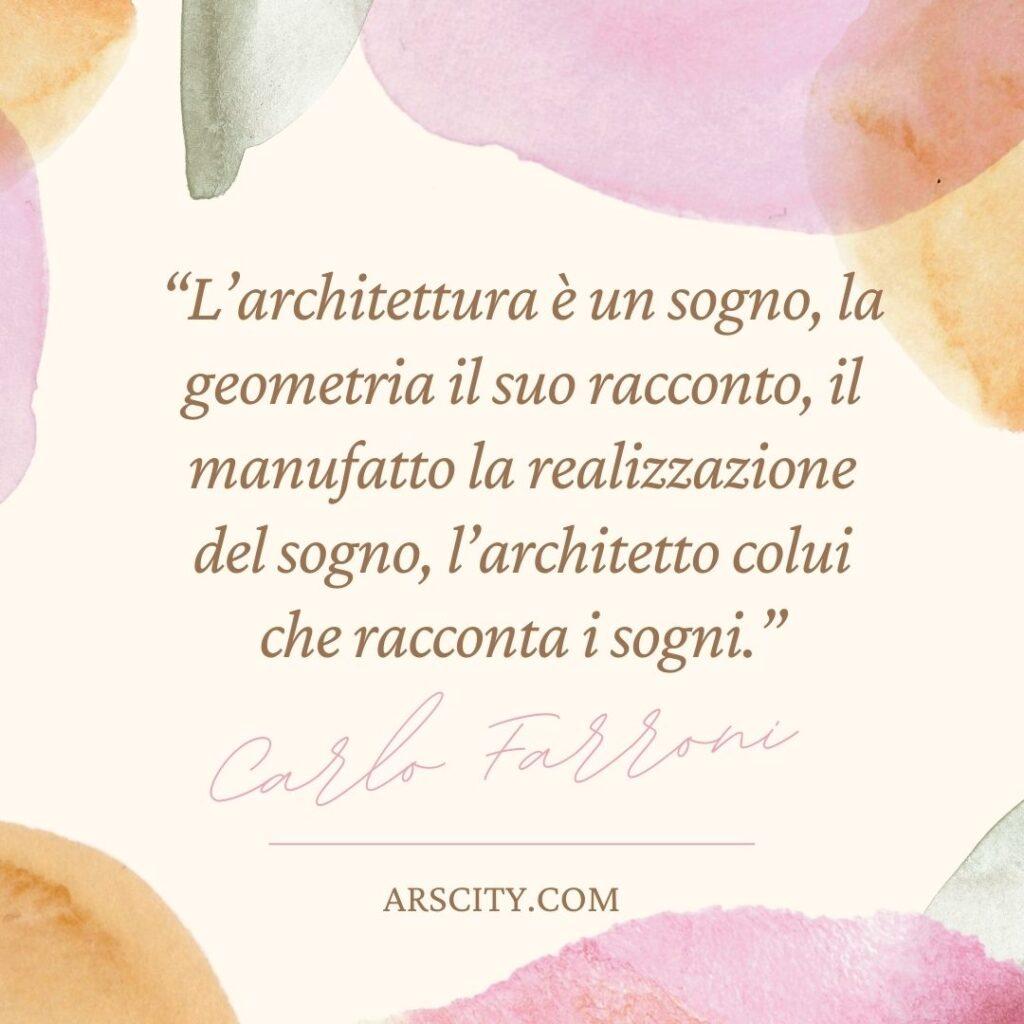 Frasi sull'architettura